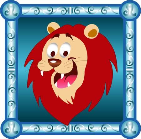 decorative zodiac character Illustration