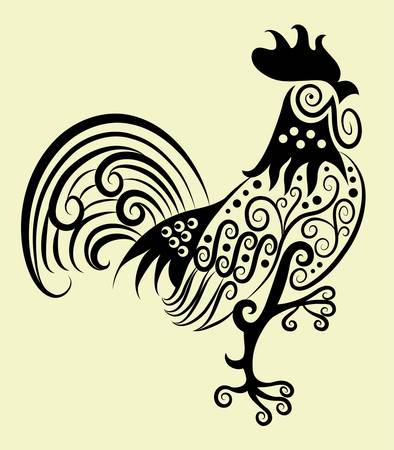 rooster: Decorative rooster ornament