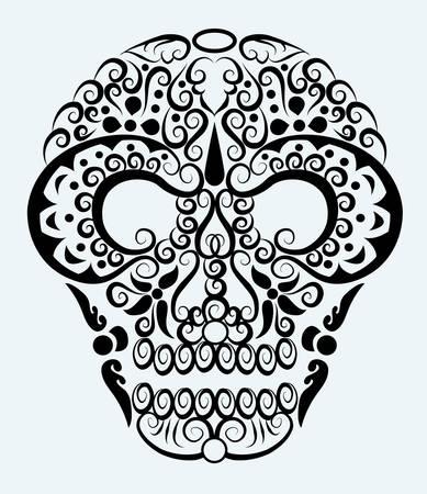 modificaci�n: Cr�neo decorativo adorno
