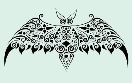 spontaneous: Bat decorative ornament
