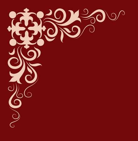 wijzigen: hoek ornament
