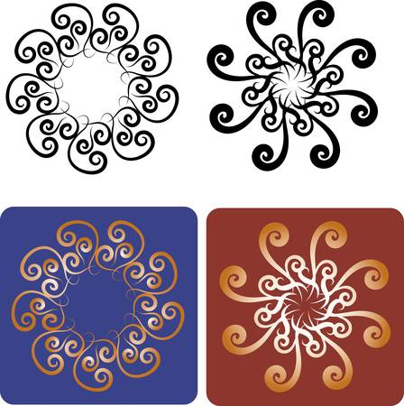 spontaneously: Flowers elements for tattoo design