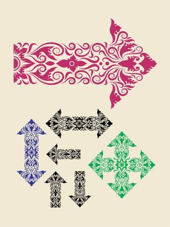 Arrow ornaments Vector
