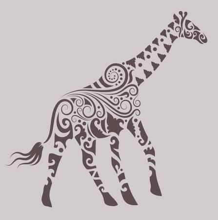 jirafa: Jirafa ornamento