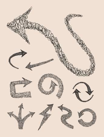 move arrow icon: Arrow curl