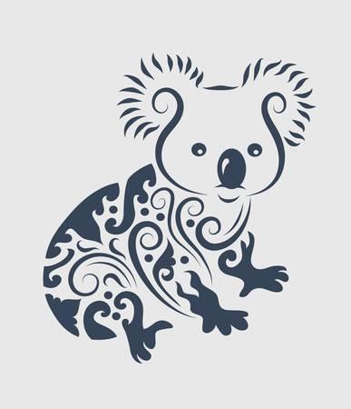 Koala decoración ornamento