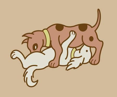 Hacer el amor posición 4, pareja erótica versión perros