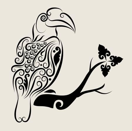 Toucan Bird Ornament