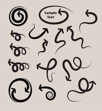 elastic: Elastic Arrow Symbols Set