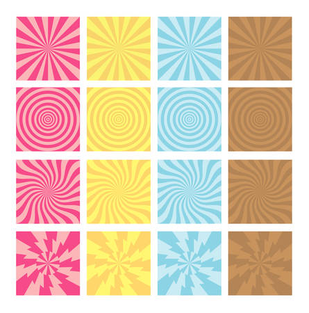 Background with four colors and variation styles  Good use for background, wallpaper, or any design you want  Easy to use   Vector