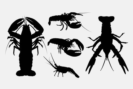 resizable: Lobster silhouettes