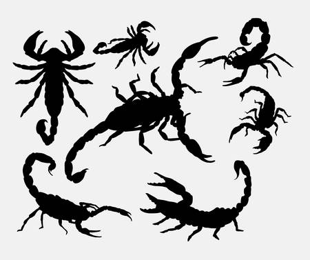 re: Scorpion animal silhouettes