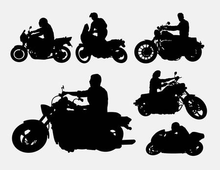 People riding motorbike