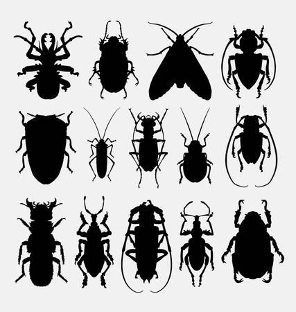 arachnid: Bug, insect, arachnid animal silhoutte. Good use for symbol, web icon