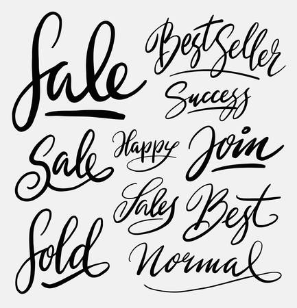 spontaneous: Sale and best seller hand written typography. Good use for logotype, symbol, cover label, product, brand, poster title or any graphic design you want.