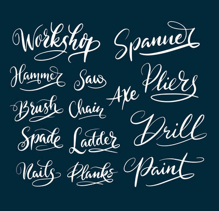 spontaneously: Workshop and paint hand written typography. Good use for logotype, symbol, cover label, product, brand, poster title or any graphic design you want. Easy to use or change color