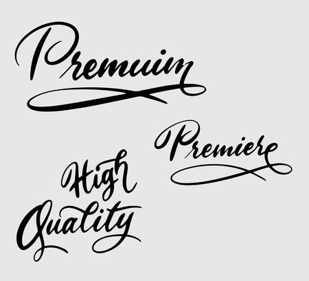 Tipografía de alta calidad y alta calidad. Foto de archivo - 94204527