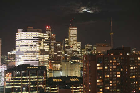 Toronto Skyline at Night photo