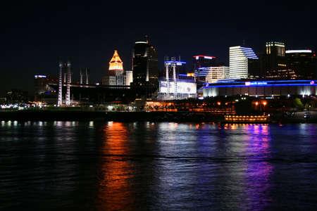 Cincinnati Skyline from Newport on the Levee II photo