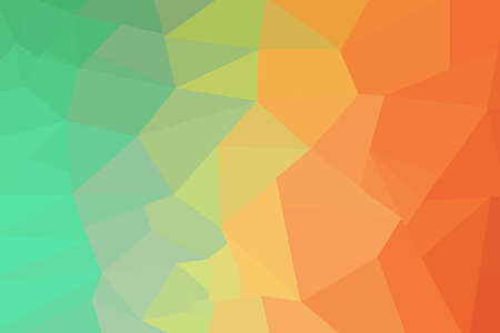 green yellow: low poly background green yellow red Stock Photo