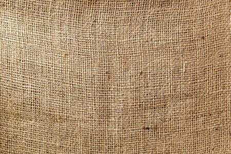 jute sackcloth for rustic background Stock Photo
