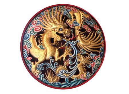 wood carvings: dragon Wood carvings