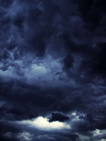 appeared: Dark storm clouds with contrast appeared through sites