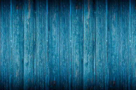 Blue wood texture or background