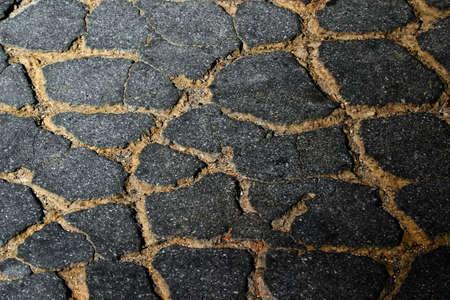 Detail of asphalt photo