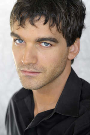 Close up portrait of trendy male model Stock Photo - 7184212