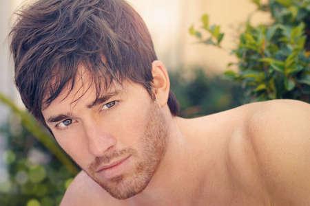 Handsome young man portrait Foto de archivo