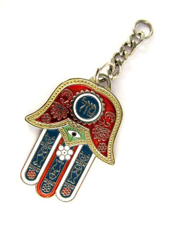 Hamsa-symbol of protection against evil photo