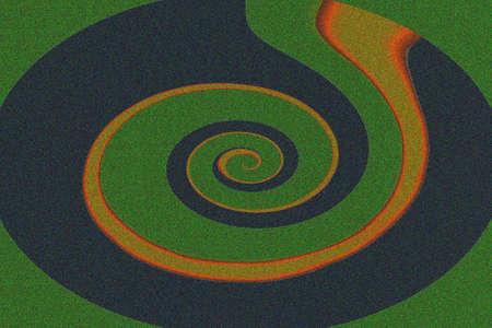 Stylized helix