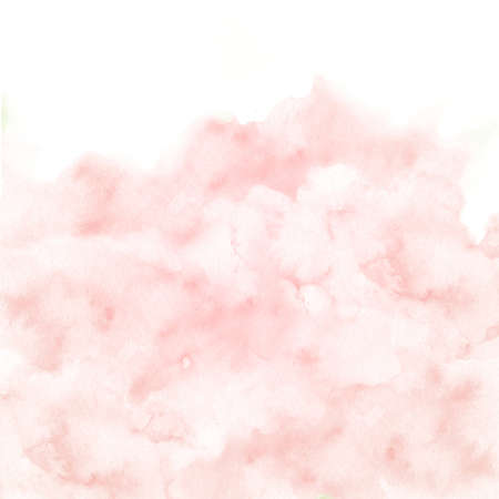 pink border texture background. Hand painted vintage wedding invitation backdrop in pastel color.