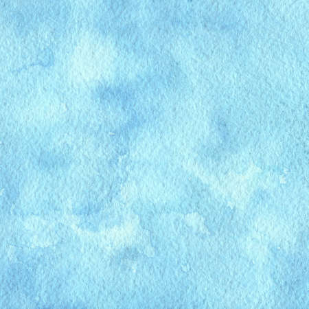 Hand painted blue watercolor background. Texture for your design. Standard-Bild - 110801243