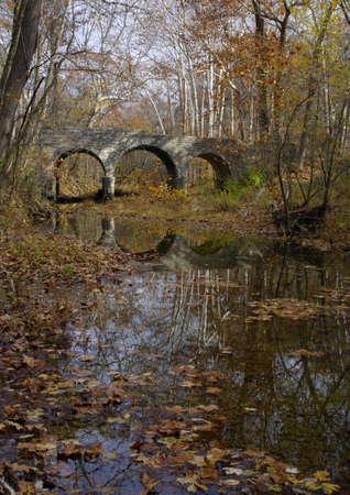 Autumn Bridge Imagens