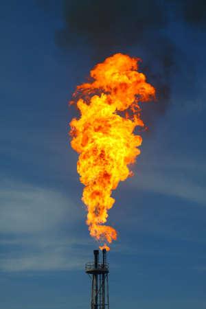 Burned flare photo