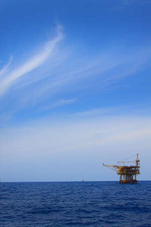 oil well: The platform