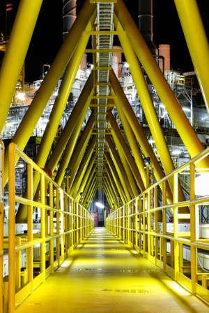 gangway: Walkway or gangway on the platform