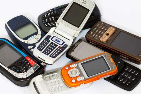 medium close up: cellphone or mobile phone