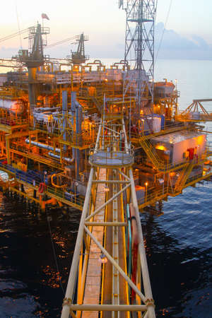 oil platform: Oil and gas platform in offshore,World energy, The construction for petroleum society