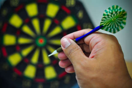 exact: darts arrows in the target center, Darts game , arrows and darts target the exact game