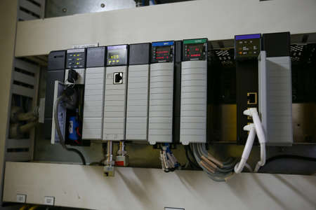 control box: Electronic components in control system. The circuit of control system in control box.