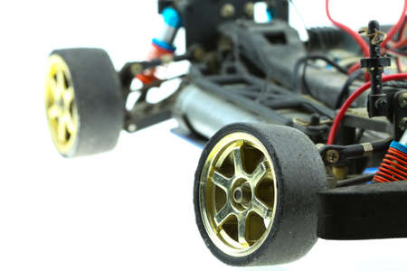 gasoline powered: Radio-controlled car - RC cars buggy, machine of electronic car Stock Photo