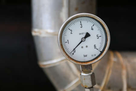 atmospheric pressure: Pressure gauge on oil and gas process for monitored condition. The gauge is one of tools for present or showed condition of process to Operator.