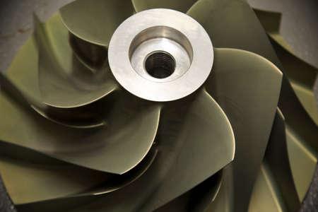 turbojet: Close up Turbo-jet engine of the plane, Gas engine technology, Turbine technology for Machine or Generator, Stock Photo
