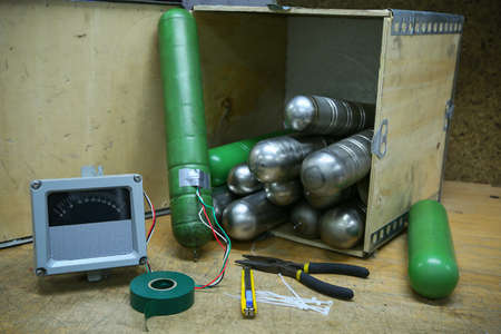 time bomb: time bomb, improvised explosive devices prepared for mission, bomb operation.