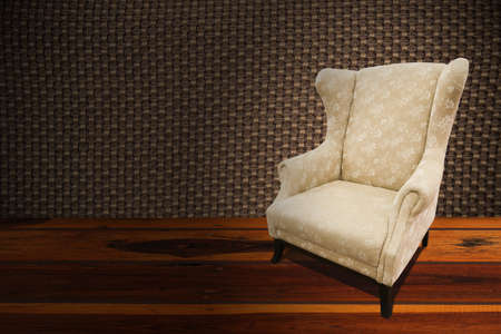 conner: chair or sofa in modern home, modern design of chair or sofa, interior of home and relax corner in home, home equipment. Stock Photo