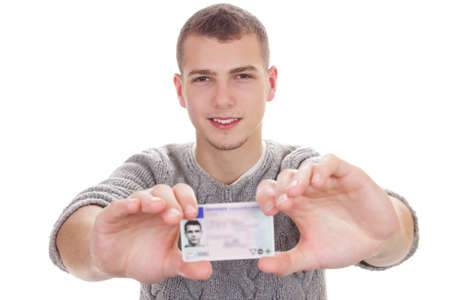 boy 16 year old: 16 to 18 year old boy just received his driver license
