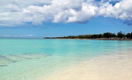 Beach of Guadeloupe Stock fotó